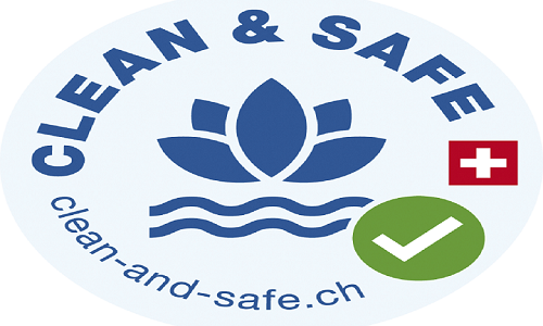 Clean & Safe label