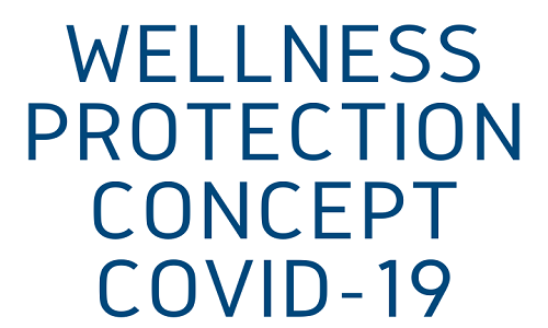 Wellness protection concept Covid-19